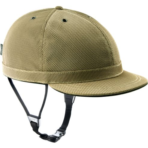 YAKKAY Cambridge Gold Helmet Cover: Large (57-59cm).