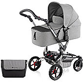 Jane Epic Micro Pushchair (Soil/Chrome)