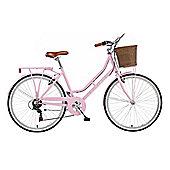 """2014 Viking Belgravia 16"""" Ladies Traditional 6 Speed Bike Pink"""