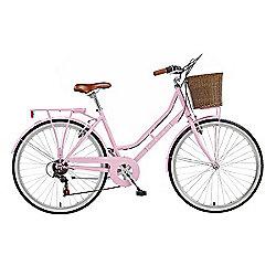 """2014 Viking Belgravia 16"""" Ladies' Traditional 6-Speed Bike Pink"""