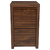 Tribeca 2 Drawer Filer, Walnut