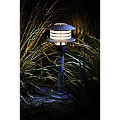 Garden Lights Rumex 1 Light Bollard in Anthracite