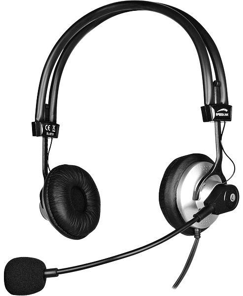 SPEEDLINK Keto2 Stereo PC Headset SL-8732-SSV-A