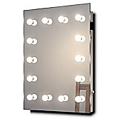 Hollywood Makeup Dressing Room Mirror with Dimmable LED lamps k412LED