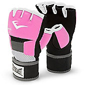 Everlast Evergel Ladies Hand Wrap Boxing Gloves - Pink - Pink