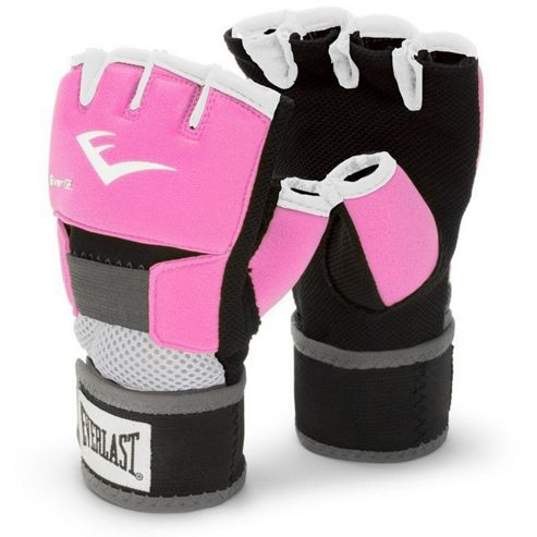 Everlast Evergel Ladies Hand Wrap Boxing Gloves - Pink
