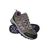 Path Womens Waterproof Walking Hiking Shoes - Grey