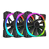 NZXT 140mm Aer RGB Premium Digital LED PWM Triple Pack Fan