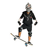 Rubies Fancy Dress - Skate Or Die - Facepaint Costume - CHILD UK SMALL