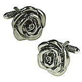 Satin Rose Cufflinks