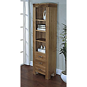 Ametis Santana Blonde Oak Slim Bookcase