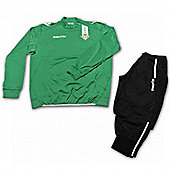 2013-14 Real Betis Poly Tracksuit (Green-Black) - Green