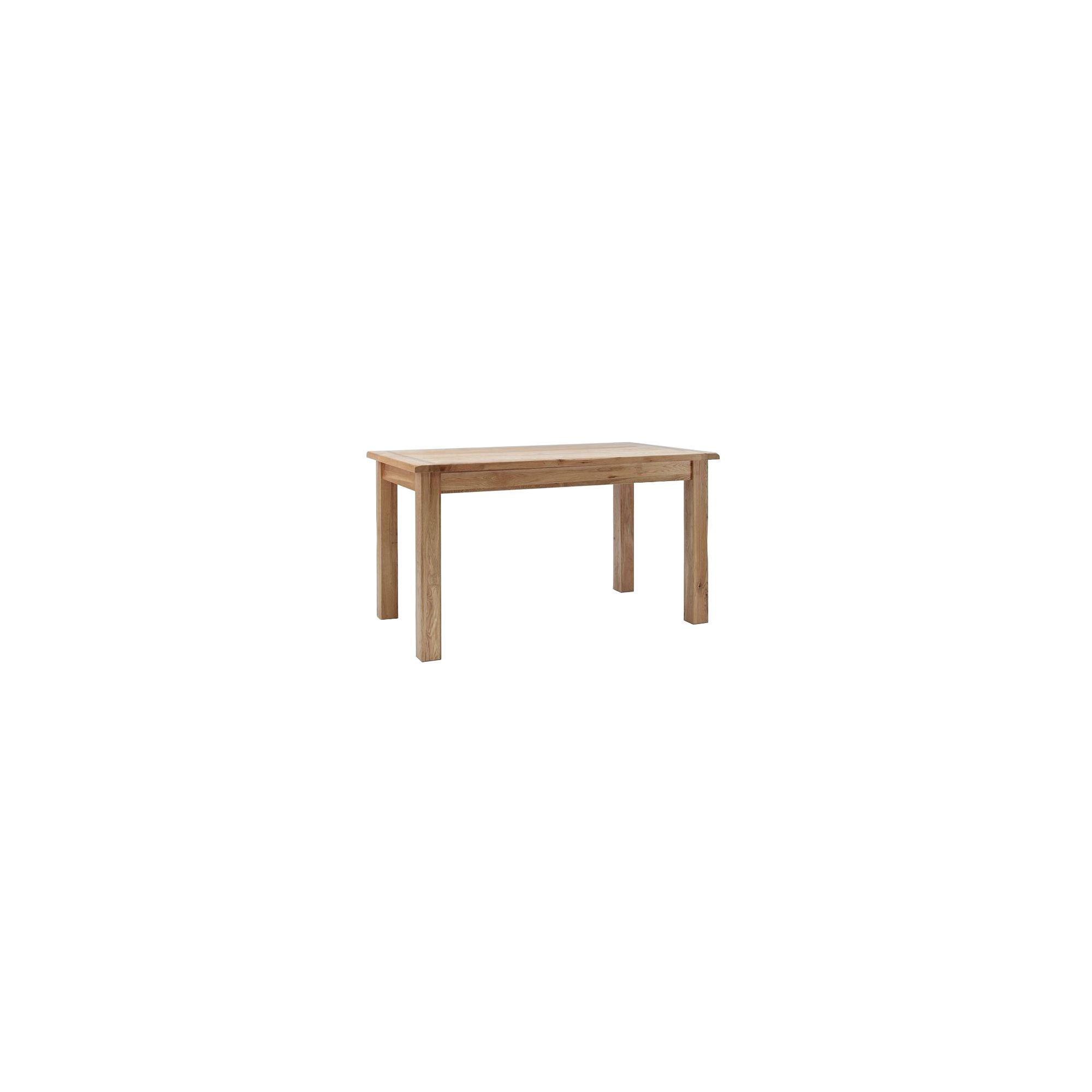 Westbury Reclaimed Oak Dining Table - 140 cm