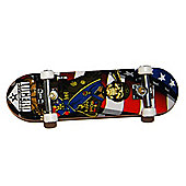 Tech Deck Black Label USA Flag and Skeleton Blister Pack