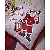 Catherine Lansfield Retro Santa Cushion Cover 43X43cm