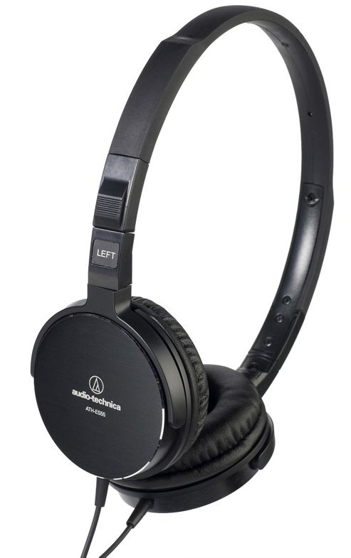 AUDIO-TECHNICA ATHES55 HEADPHONES (BLACK)