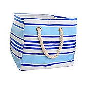 Soft Storage Bag Medium - Blue Stripe
