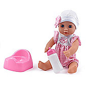 Dolls World Baby Dribbles Doll