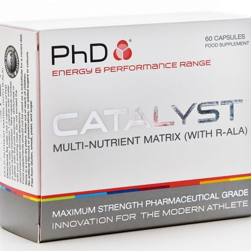 PhD Catalyst Multi-Nutrient Matrix With R-ALA 60 Capsules