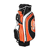 Confidence Pro Ii 14 Way Deluxe Golf Cart Trolley Bag Silver