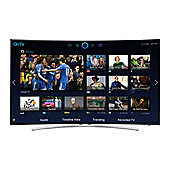 UE48H8000STX Quad Core 48 Full HD Smart LED Backlit Curved Screen TV