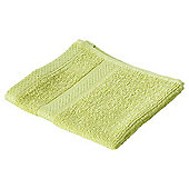 Pure Cotton Facecloth Lime