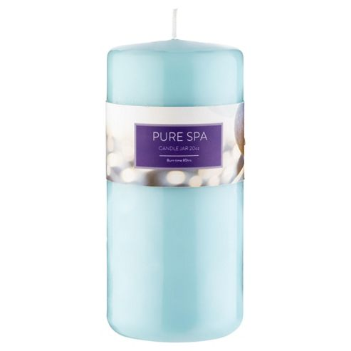 Tesco Pure Spa Pillar Candle