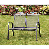 Savoy Thermosint Bench - 2 Seater Stacking
