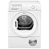 Hotpoint TCFM80CGP Condenser Tumble Dryer, 8Kg Load, C Energy Rating, White