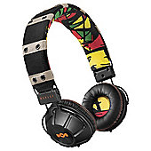 House Of Marley Rebel On-Ear Headphones - Rasta