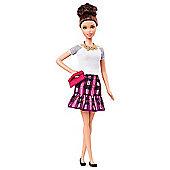 Barbie Fashionistas Doll - Tartan Skirt