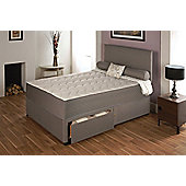 Vogue Beds Memory Touch Pocket Serenity 2000 Platform Divan Bed - Small Double / Without Drawer
