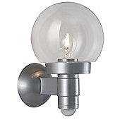 Steinel L115 PIR Wall Sensor Light in Silver