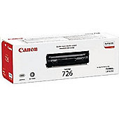 Canon 726 Toner Cartridge - Black 3483B002AA Laser - 2100 Page - 1 / Pack - OEM