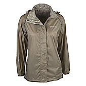 Pakka Womens Waterproof Jacket - Beige
