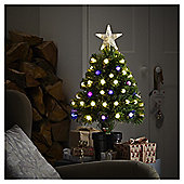 2ft Pre Lit Colour Changing Christmas Tree