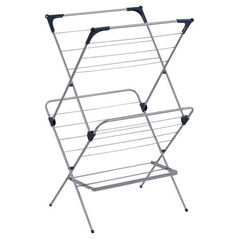 Tesco 2 Tier Concertina Clothes Airer
