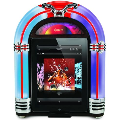 ION Jukebox Dock Retro Speaker for iPad/iPhone/iPod