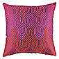 F&F Home Wave Cushion Pink/Purple