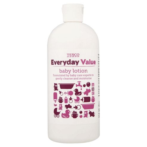 Tesco Everyday Value Baby Lotion 500ml