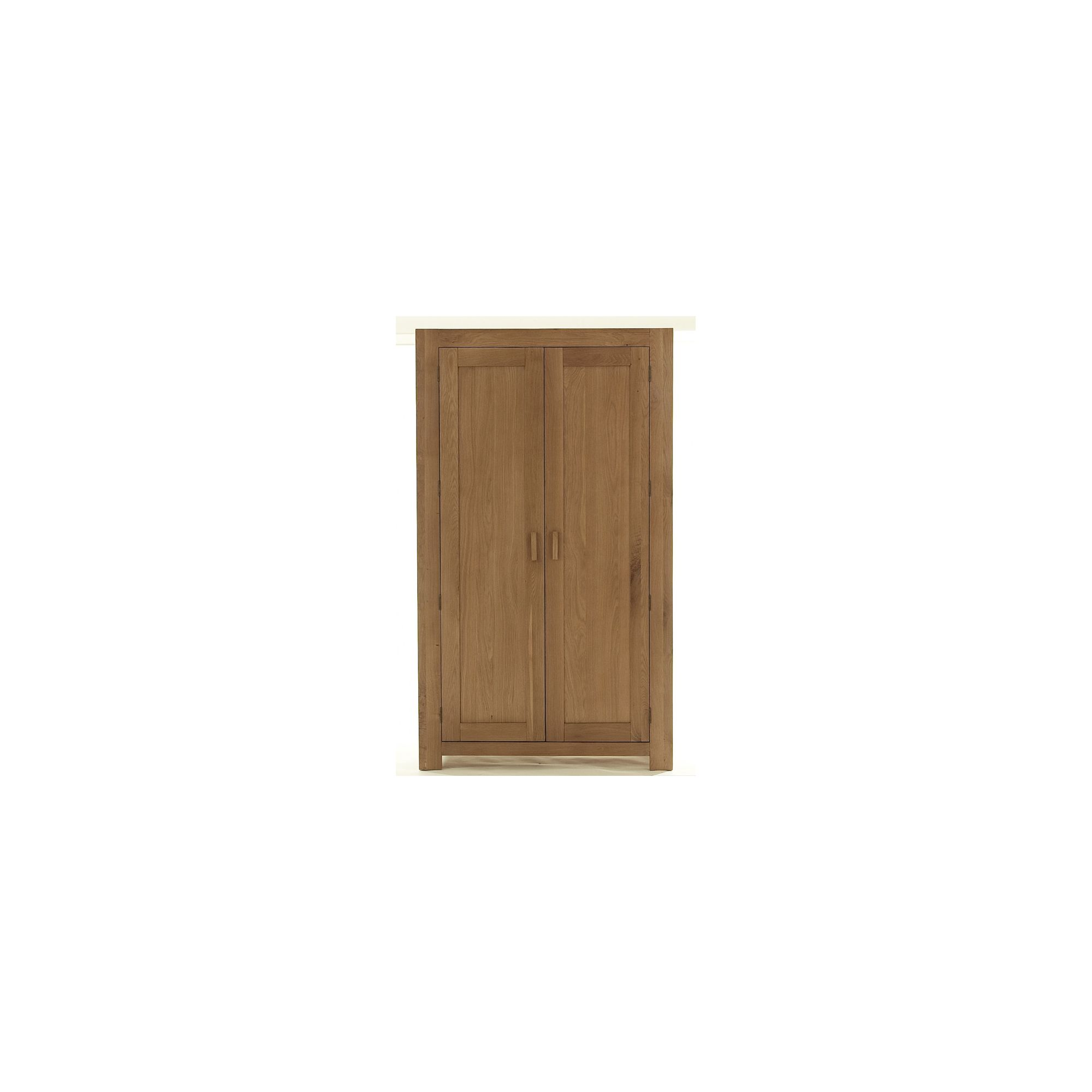 Thorndon Block Bedroom Gents Double Wardrobe in Natural Matured Oak at Tesco Direct