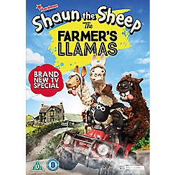 Shaun The Sheep - The Farmer's Llamas DVD