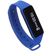 Archon Touch Blue Smart Fitness Wristband OLED Touchscreen Activity Tracker