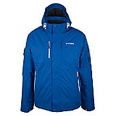 Pulse Waterproof Breathable Reflector Hooded Snowboarding Skiing Ski Jacket - Blue