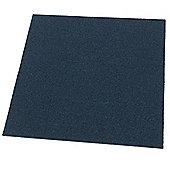 Westco 51cm x 51cm Carpet Tile, Midnight Blue