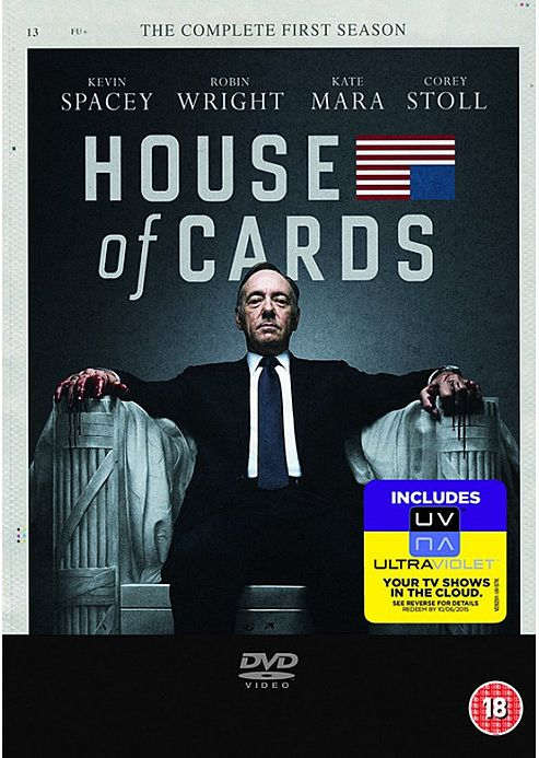 House Of Cards - Season 1 (DVD Boxset)