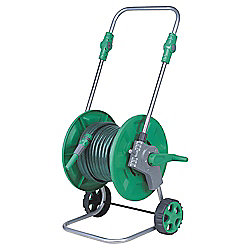Tesco 25m Hose, Reel & Cart Set