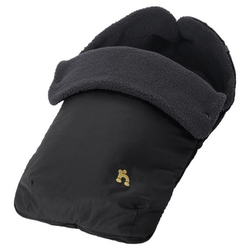 Out n About Footmuff Raven Black
