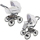 Bebecar Stylo Class EL Magic Combination Pram (Arctic White)