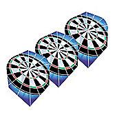 HARROWS Hologram Holographic Dartboard Dart Flights